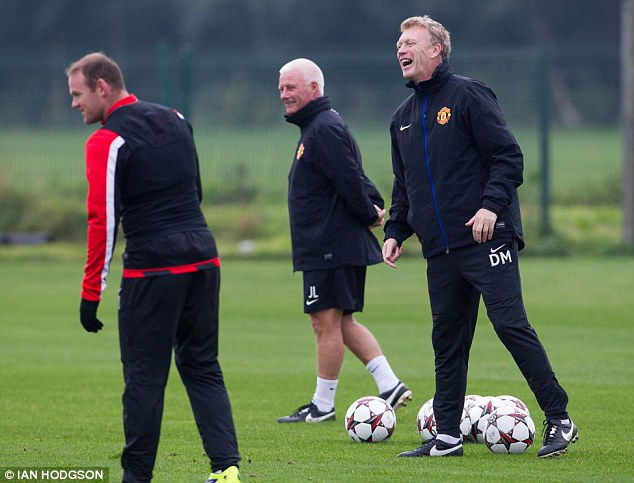 Improving: David Moyes knows United need a change in fortunes
