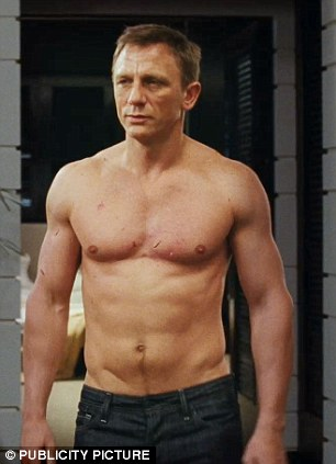 Manscapers: According to a new study, over 70 per cent of men admit to trimming their body hair, with almost a third taking over 20 minutes to get the job done. Are hair-free David Beckham and Daniel Craig to blame?