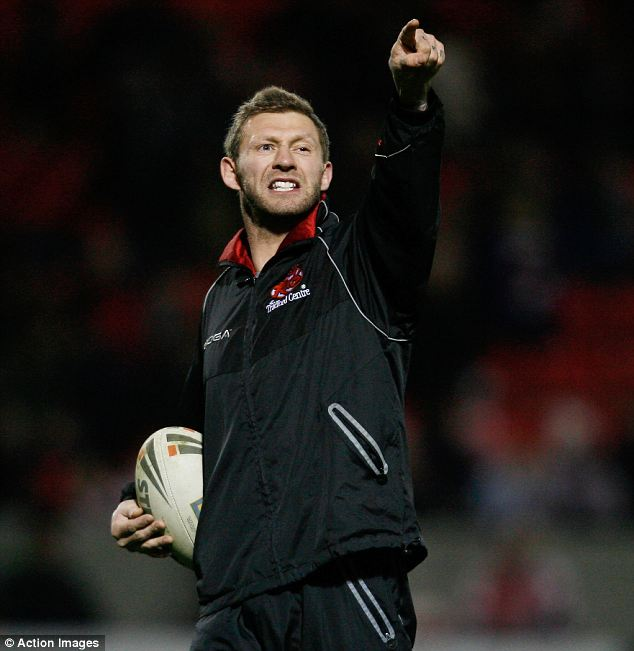 Denial: Salford Reds' assistant coach Sean Long