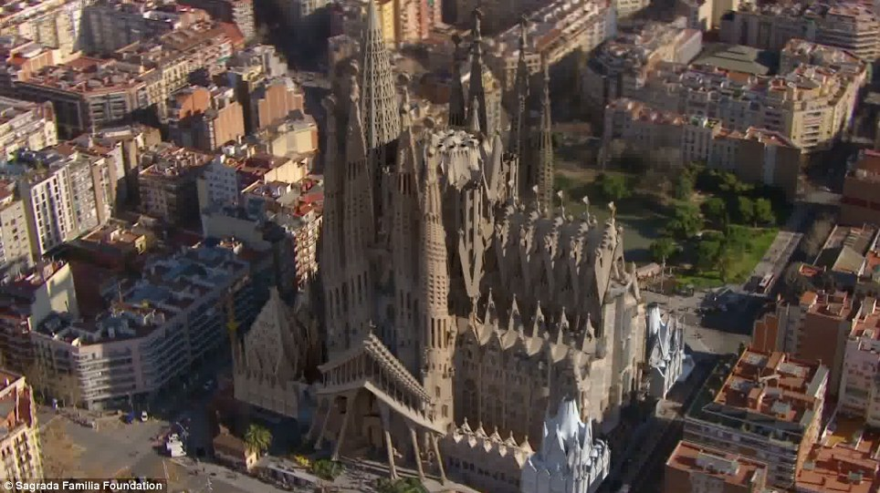 But is it what he wanted: Critics warn that its final design will have little in common with Gaudí's original vision