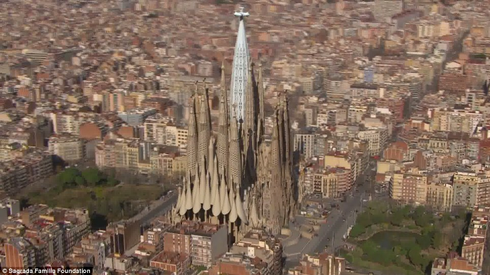 And does it matter? Packed with symbolism, once finished La Sagrada Familia will have 18 spires - one for every evangelist, one for every apostle and two, towering above the rest, representing the Virgin Mary and Jesus
