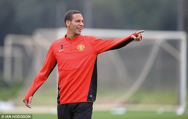 Out: Moyes confirmed that Rio Ferdinand would not travel to Ukraine