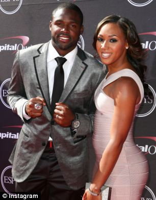 Torrey Smith And Wife Chanel Williams