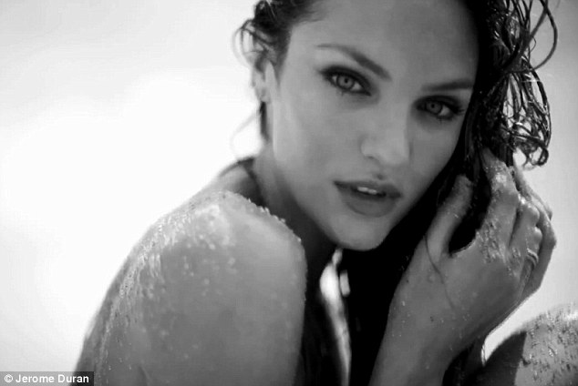 It's just good business! Candice Swanepoel has released the second of three stunning short videos to help relaunch her website - a beautifully-shot black and white number by Mediatropics' Jerome Duran