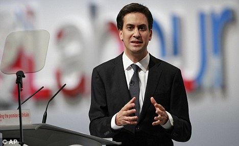 Legacy: Labour leader Ed Miliband appears to have absorbed many of his father's ideas