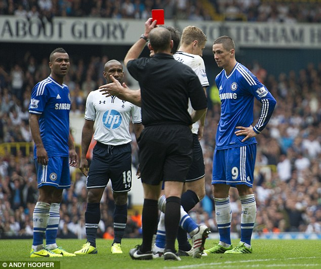 Farce: Andre Villas-Boas says the FA's conclusion not to add to Torres's automatic ban is 'almost a joke'