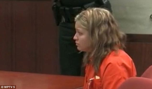 Third chance: Kaitlyn Hunt, 19, has been offered a third plea deal in her ongoing saga over a lesbian relationship with a 14-year-old high school classmate