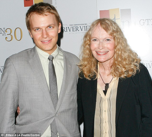 Future News Host: Ronan Farrow is in line to get his own talk show at MSNBC it was revealed today - the same day his mother, Mia Farrow said his father was 'possibly' Frank Sinatra - not Woody Allen