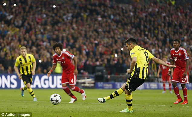 Watertight: Ilkay Gundogan's penalty in the final is the only goal Bayern conceded beyond the last-16 games
