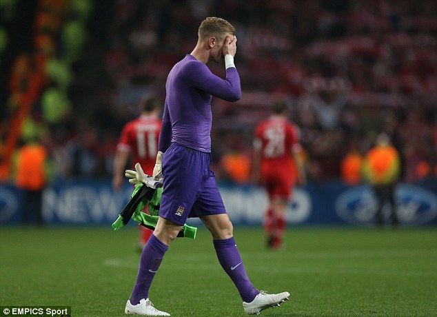 Can't believe it: Two costly errors from Joe Hart gifted Bayern goals