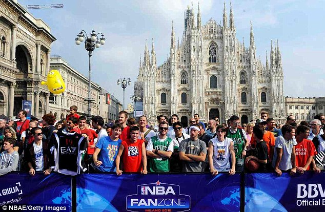 Welcome: The event will be held over four days and is free for basketball fans to attend