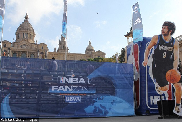 Festival: The NBA will host a Fan Zone in Manchester in the lead up to next Tuesday's game
