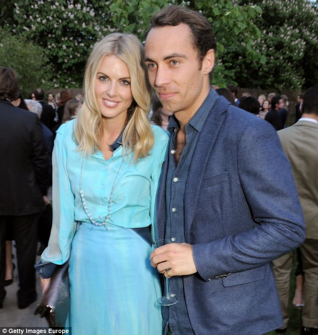 Distraught: Miss Air, who is dating James Middleton, brother of Kate, said she loves all food and always has
