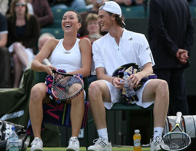 Jelena Jankovic won the Wimbledon mixed double's title with Jamie Murray