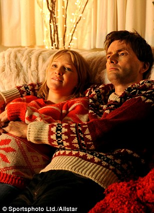 Joanna in Nativity 2: Danger in the Manger! alongside David Tennant;