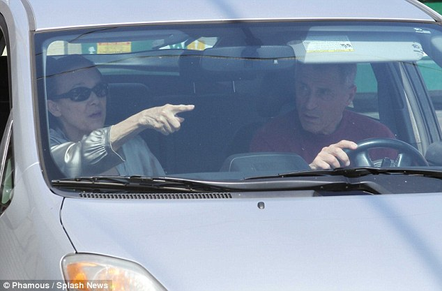 There's a spot: Valerie Harper was looking ahead to a new week rehearsals and keeping an eye out for a parking space too