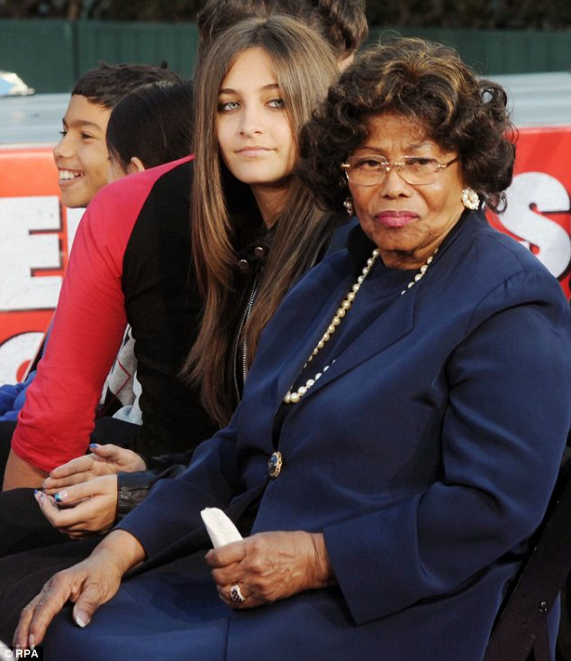 Appeal? Katherine Jackson (seen here with Michael's daughter Paris) hasn't ruled out appealing the verdict