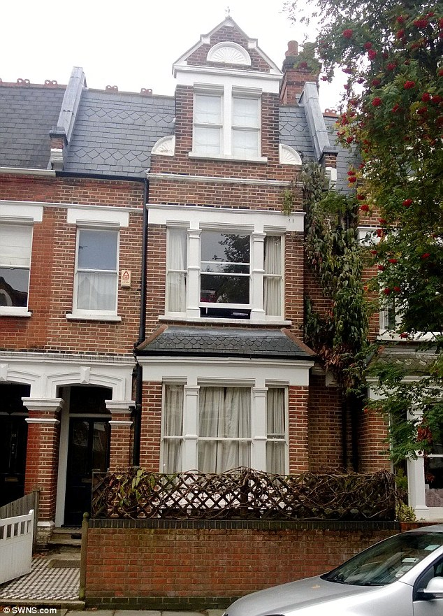 Expensive: The group caused £15,000 of damage and left vomit all over the terraced property in North London