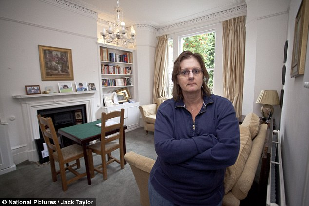 Angry: Catherine Seale, 54, who had gone to France on holiday with her husband when the trouble began, has warned of the dangers of putting personal details online