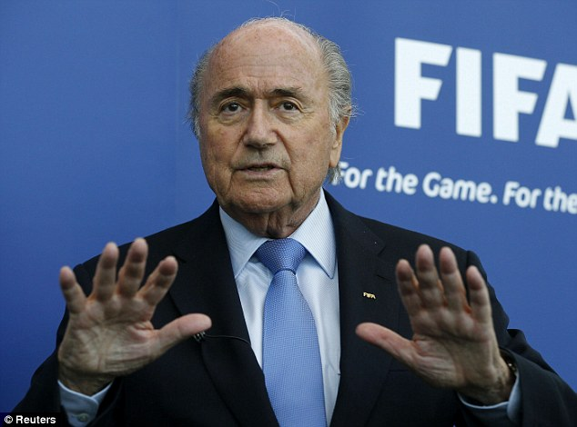 Waiting game: Blatter had hoped to announce the World Cup move as early as this Friday