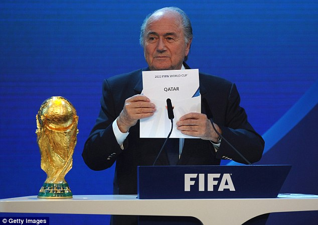 Controversial move: There has been widespread anger at FIFA's attempts to move the tournament