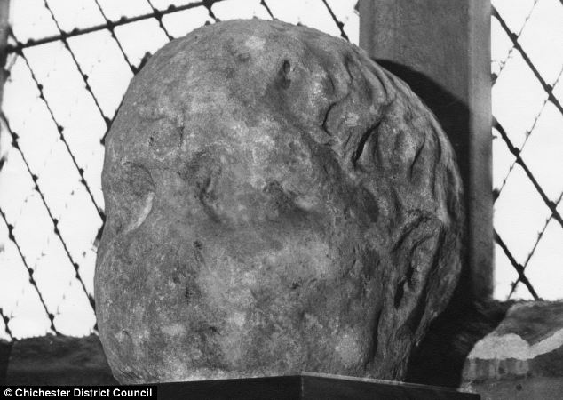 The identity of a huge stone object known as the 'Bosham Head'