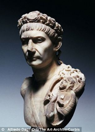 Portrait Bust of Trajan