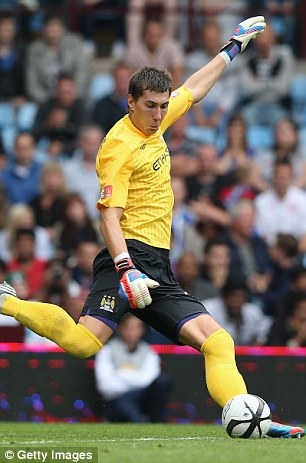 Under pressure: Romanian keeper Costel Pantilimon is waiting in the wings
