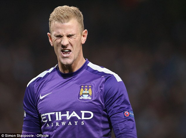 Cut above: Hodgson will stick with Joe Hart as No 1 for the remaining qualifiers