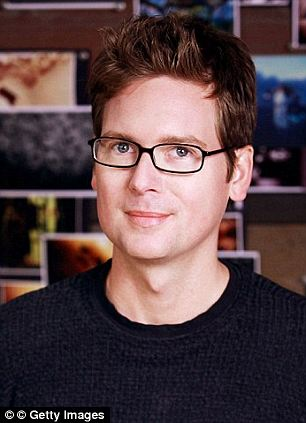 Men behind the machine: Biz Stone (left) and Evan Williams (right) helped Dorsey launch the company