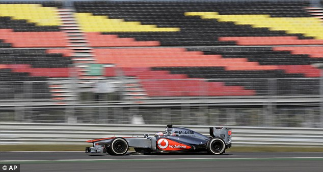 Atmosphere: Jenson Button enjoys the circuit but says it's nothing without people to watch