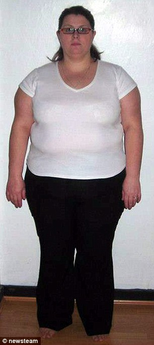 Jane Bailey, 38, from Staffordshire, survived on a diet of chocolate and pastry, weighed 20st 9lb, and was known as 'The Big One'