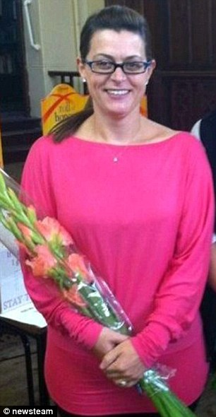 Jane at the Kidsgrove branch of Slimming World in August 2013