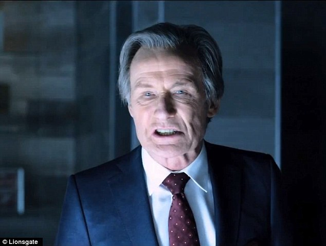 What's a movie without him? Bill Nighy stars in the film as well in all his sharp, menacing glory