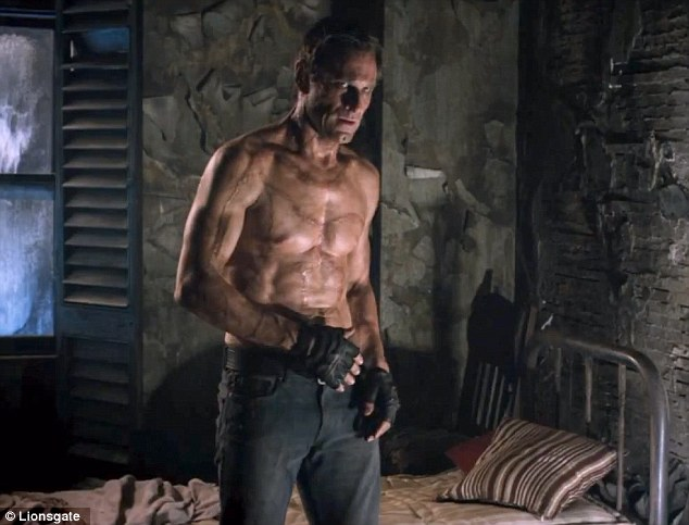 Ready for this? Aaron Eckhart is a ripped and scarred monster in I, Frankenstein and the trailer was released on Friday revealing just how ghastly the effects are