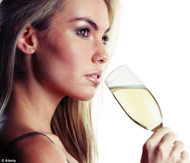 French firm Aysse says that alcohol may hold the secret to younger skin but only if you put it on your face