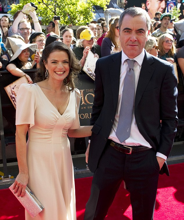 A united front: The pair at The Hobbit - An Unexpected Journey world film premiere in Wellington, New Zealand