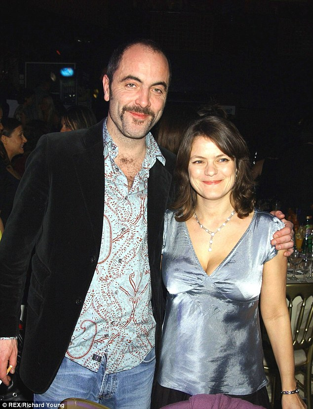Happier times: The couple, pictured here in 2004, have suffered difficult times with alleged infidelities on Nesbitt's part