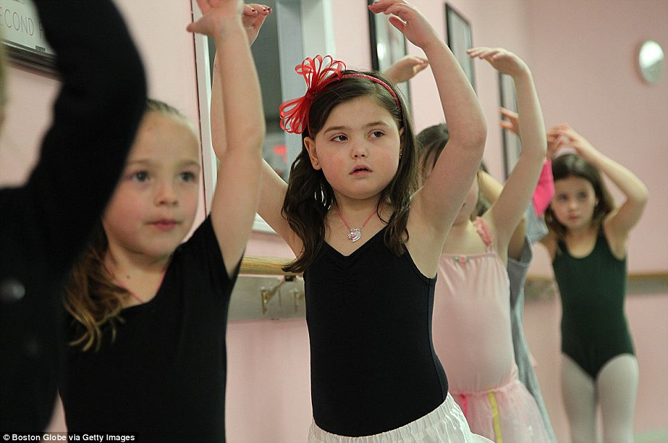 Diagnosis: Caroline was found to have a deadly tumour in her brain after she started falling during dance classes