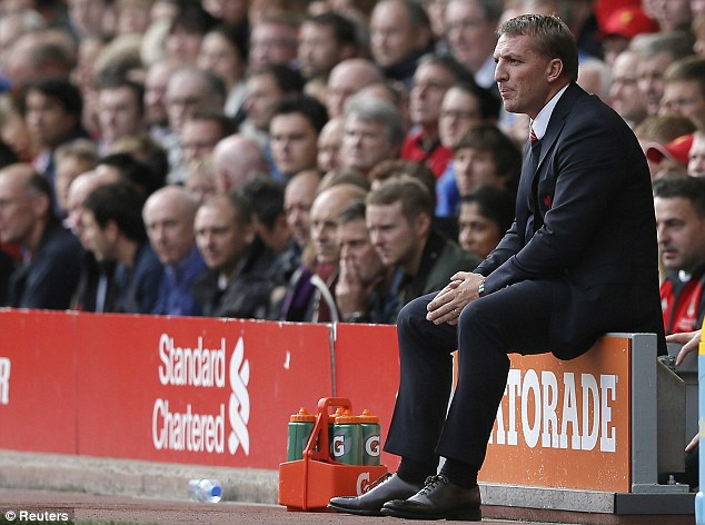 More to come: Liverpool manager Brendan Rodgers wants his team to improve, despite the Reds currently sitting top of the Premier League