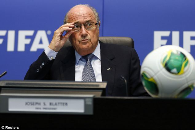 A spectacle: Blatter said there was a 'bundle of votes' between Spain and Qatar