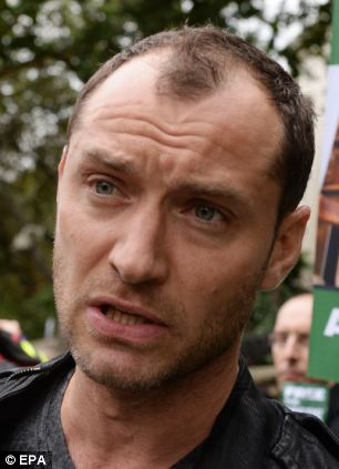 Jude Law has said he is worried about his friend Frank Hewetson who is among those being help