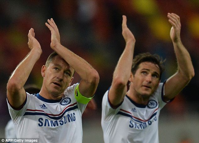 Influence: John Terry (L) and Frank Lampard