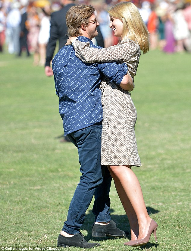 Moving fast: They only started dating in August, but already Dianna and Nick are inseparable