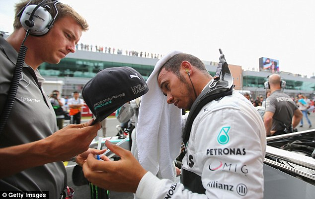 'Not a great day': Lewis Hamilton experienced another disappointing afternoon at the Korean Grand Prix