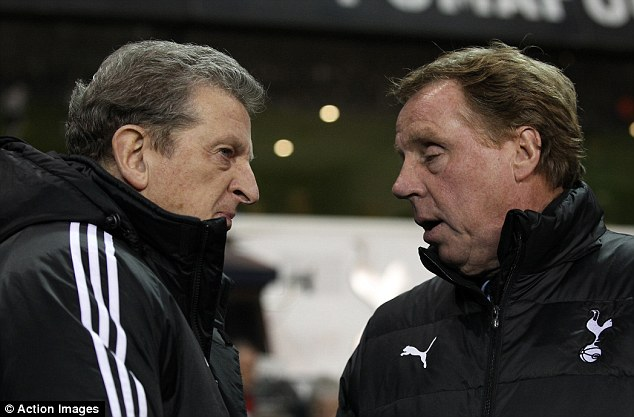 Head to head: Roy Hodgson and Harry Redknapp were the two favourites to get the England job - Hodgson was the one chosen by The FA