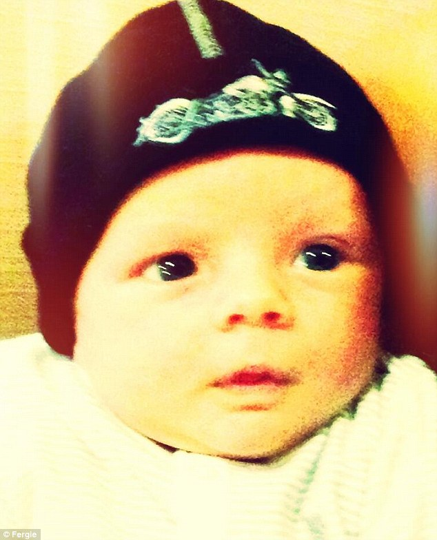 Their beloved: Fergie and Josh have not been shy when it comes to sharing snaps of their baby boy Axl