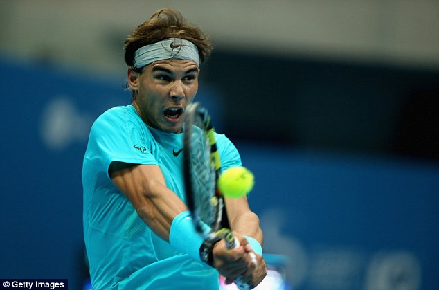 Comeback: Rafa Nadal came back from months on the sidelines to win two Grand Slams and reach the top of the ATP rankings