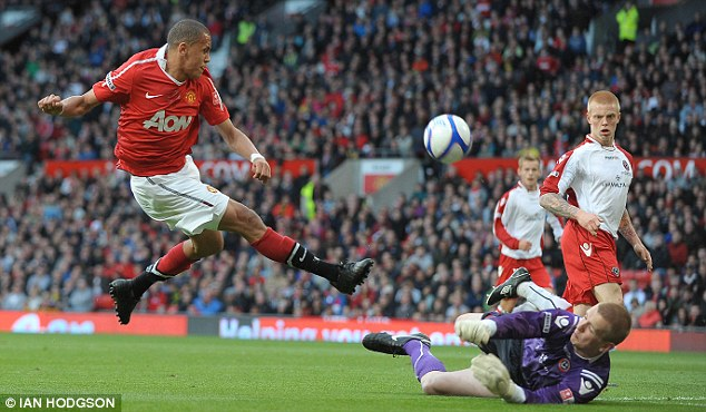 Precocious: Morrison was rated at Manchester United but his wayward lifestyle led to him being let go