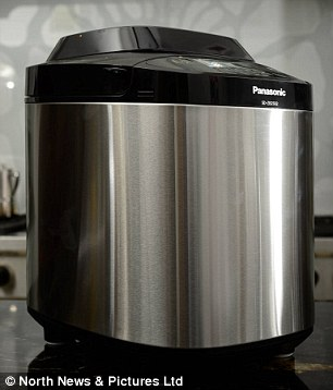 Boys toy: Si says he has seen car manuals that are less complicated than the Panasonic breadmaker's instructions, but the loaves it produces are a real treat